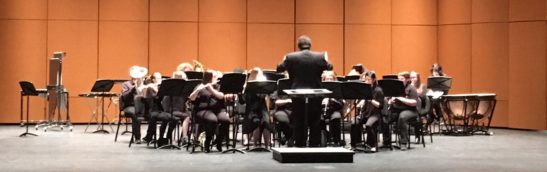 JCHS Band at KMEA Concert Band Assessment