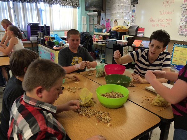 Using Fractions to make Trail Mix