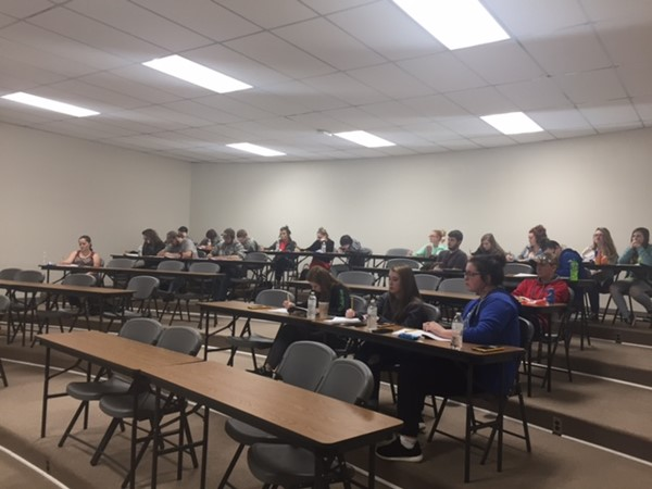 An ACT Boot Camp for Jackson County High School students was held at the Central Office Administration Building on Wednesday, November 30, 2016.  Today's ACT Boot Camp is one of several that have been completed, or scheduled within the 2016-17 school year.