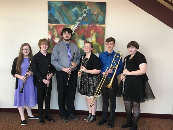 Students attending Honors clinic at EKU were students were Bailey Byrd (clarinet), Jared Clark (clarinet), Paige Conner (clarinet), Sara Cupp (clarinet), Zackary Fields (clarinet), and Matthew Thomas (Trombone).  The Jackson County High School Band is under the direction of Mr. James Adams.