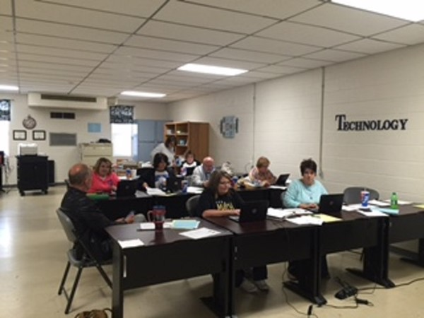 On Monday, November 7, 2016 JCPS had a district-wide planning day.  Teachers in grades K through 12 met to design NTI Day lessons for their classes.  These lessons will be utilized in the event we have inclement weather and we choose to implement a non-traditional instructional day.