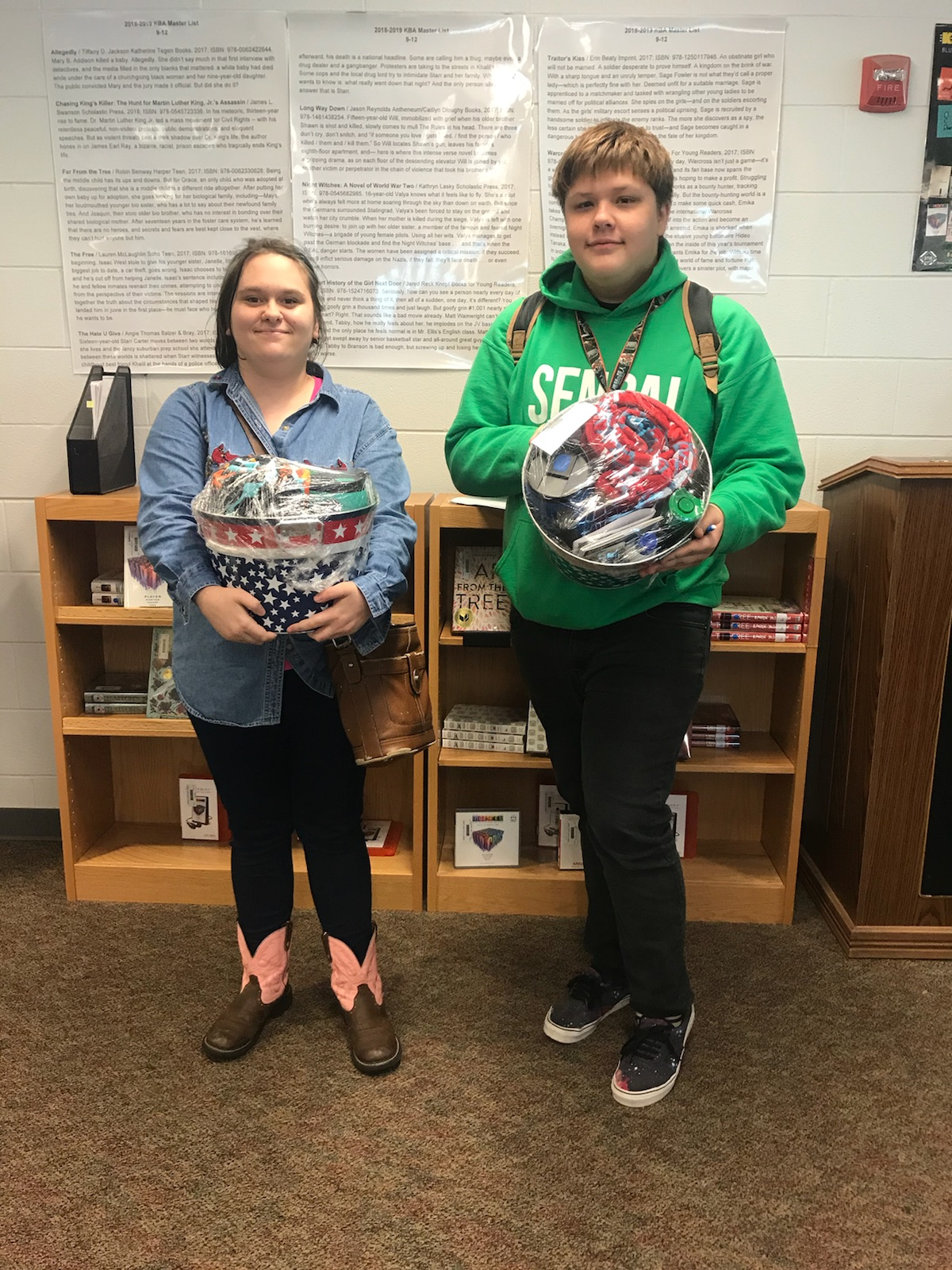 1st Reading challenge winners