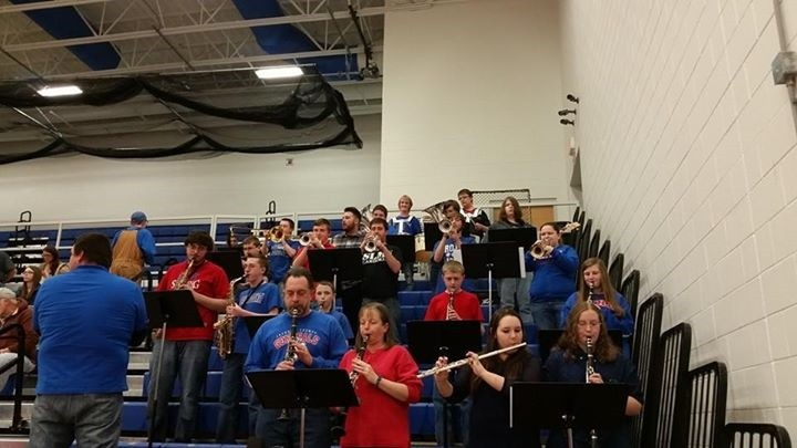 Pep Band Hits a High Note