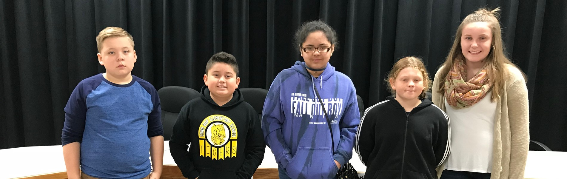 STLP County Spelling Bee Winners
