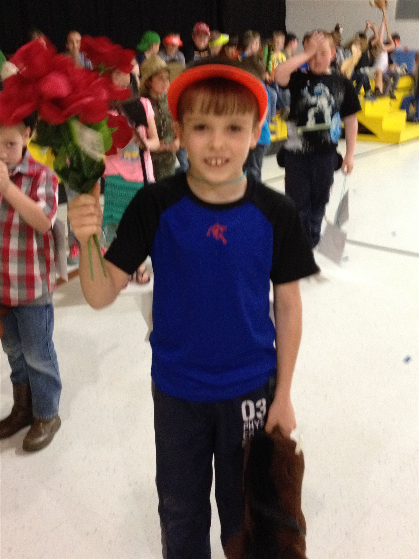Run for the Roses with 2nd Grade